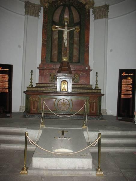 Tumba de Goya en San Antonio de la Florida, Madrid.